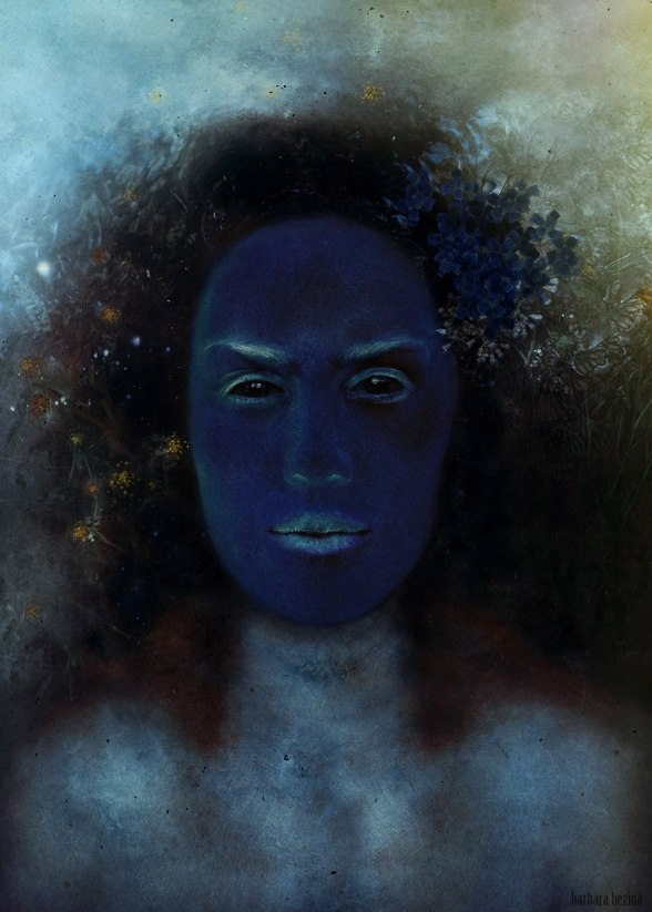 Criatura azulada